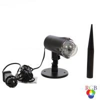 Proiector LED Craciun, exterior / interior, Hoff 58930003, 4W, RGB
