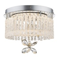 Plafoniera LED Mathilda 68397, 12 W, cristale K9