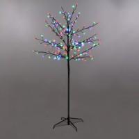 Copac cu 180 LED-uri multicolore constante, Hoff, 150 cm, alimentare priza