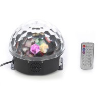 Glob disco LED Hoff Light and Music, cu telecomanda