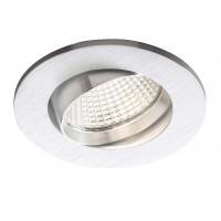 Spot LED incastrat MT 128 70364, 5W, lumina neutra, orientabil, aluminiu
