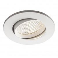 Spot LED incastrat MT 128 70363, 5W, lumina neutra, orientabil, alb