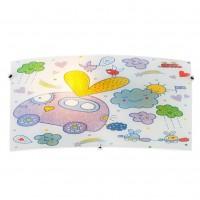 Aplica pentru copii Clouds 04-496, 1 x E27, multicolora