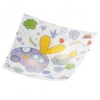 Plafoniera pentru copii Clouds 04-498, 2 x E27, multicolora