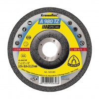 Disc debitare inox si otel, Klingspor A 980 TZ Special, 125 x 22.23 x 0.8 mm