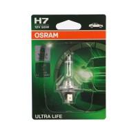 Bec auto Osram H7 Ultra Life BL1 , PX26D, 55 W, 12 V