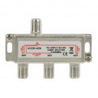 Distribuitor semnal TV 3 iesiri FC-3SPLT-ST-KN-BW