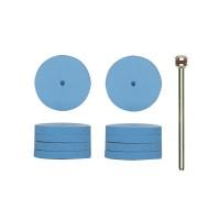 Disc flexibil, pentru slefuire fina, din silicon, Proxxon 28294, set 10 bucati