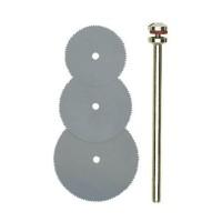 Disc pentru taiere plastic / lemn, din otel elastic, Proxxon 28830, set 3 bucati