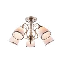 Lustra Comodoro 54706-5, 5 x E14, bronz antic + opal