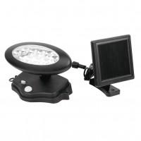 Reflector solar LED  Hoff, plastic, negru, IP44