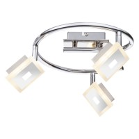Plafoniera LED Gerolf 56111-3, 3 x 5W, argintie