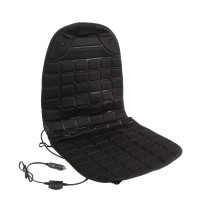 Husa cu incalzire pentru scaun auto, Carmax, 97 x 48 cm, 12 V