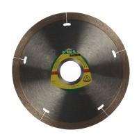 Disc diamantat, cu segmente, pentru debitare placi ceramice, Klingspor DT 900 FL, 125 x 22.23 x 1.4 mm