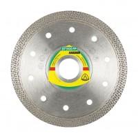 Disc diamantat, continuu, pentru debitare placi ceramice, Klingspor DT 900 FP,  125 x 22.23 x 1.4 mm