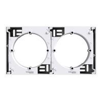 Cadru aparent Schneider Electric Asfora EPH6100121, 1 post, alb, pentru priza / intrerupator