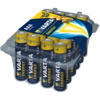 Baterie Varta Energy 4103, AAA / LR3, alcalina, 24 buc