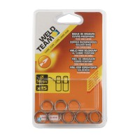 Set de 15 inele sudabile, Weld Team, 14 mm