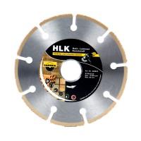 Disc diamantat, cu segmente, pentru debitare lemn, HLK 320023, 125 x 22.23 mm