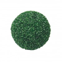 Decoratiune gradina Boxwood, artificial, D 18 cm