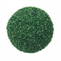 Decoratiune gradina Boxwood, artificial, D 28 cm