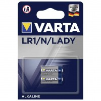 Baterie Varta Profesional LR1 / N / Lady, Alcalina, 2 buc
