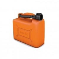Canistra din plastic, pentru combustibil, Jolie, 5 L + palnie