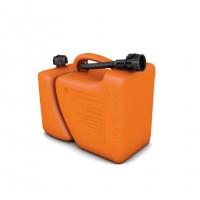 Canistra din plastic, pentru combustibil, dubla, 5+2 L + palnie