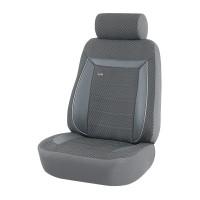 Huse auto pentru scaun, Otom Prestige 720, universale, gri, set 15 piese