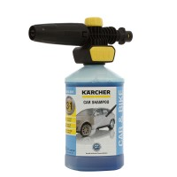 Duza spumare Karcher Connect`n`Clean FJ 10C, 2.643-144.0 + sampon auto 1 litru