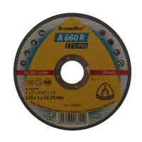 Disc debitare inox si otel, Klingspor A 660 R Supra, 115 x 22.23 x 1 mm