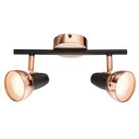 Plafoniera LED Tobi 56117-2, 2 x 4W, lumina calda