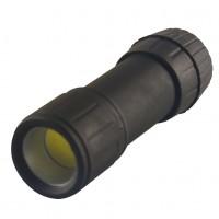 Lanterna LED COB Hoff, alimentare baterii (3 x AAA), 1W