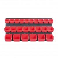 Cutii pentru depozitare, Kistenberg KOR2-S411, set 24 bucati