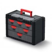 Cutie pentru scule, cu 6 sertare, Kistenberg KMC301, 400 x 200 x 260 mm
