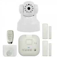 Kit casa inteligenta PNI SmartHome SM400 + camera video SM460 sistem de alarma si monitorizare video prin internet