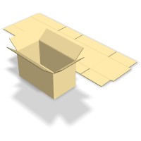 Cutie depozitare, din carton, BCT3FT-690, 650 x 350 x 370 mm