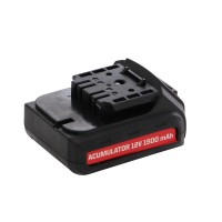 Acumulator pentru masina de gaurit Panzer CD-1292-AP, 12 V, 1500 mAh, Li-Ion