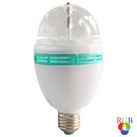 Bec disco LED RGB Hoff 3W
