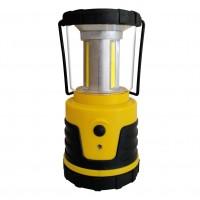 Felinar LED COB Hoff, alimentare baterii (3 x D / R20), 3 x 3W, 3 moduri de iluminare