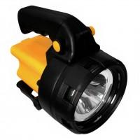 Lanterna LED COB Hoff, cu acumulator, 3W, maner
