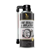 Spray auto Kraftmann, pentru umflat si reparat anvelope,  450 ml