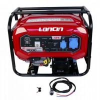 Generator de curent, Loncin LC8000D-DCS, monofazic, cu automatizare, 7 kw, 14 CP