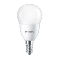 Bec LED Philips mini P48 E14 7W 830lm lumina rece 6500 K