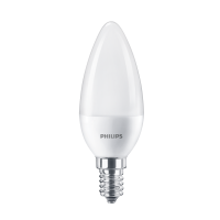 Bec LED Philips lumanare B38 E14 7W 830lm lumina neutra 4000 K