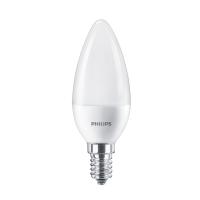 Bec LED Philips lumanare B38 E14 7W 830lm lumina rece 6500 K