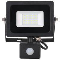 Proiector LED cu senzor de miscare Hoff 20W, lumina rece, IP65