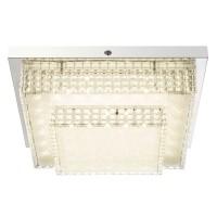Plafoniera LED Cake I 48214-16, 16W, lumina neutra, crom + acril