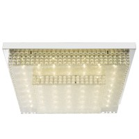 Plafoniera LED Cake I 48214-24, 24W, lumina neutra, crom + acril