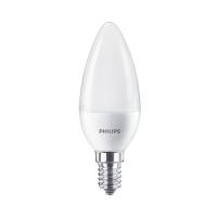 Bec LED Philips lumanare B38 E14 7W 806lm lumina calda 2700 K